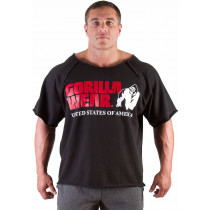 Gorilla Wear Classic Logo Work Out Top - black