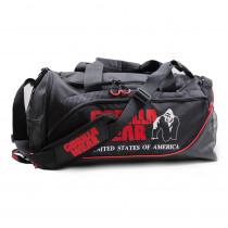 Gorilla Wear Jerome Gym Bag – Black/Red