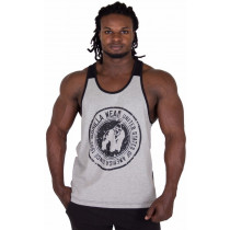 Gorilla Wear Roswell Tank Top - Gray/Black