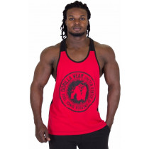 Gorilla Wear Roswell Tank Top – Red/Black