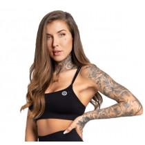 Gym Glamour Seamless Sports Bra - Black