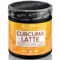 Ironmaxx Curcuma Latte - 300 g Pulver