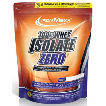 Ironmaxx 100% Whey Isolate Zero - 2000g