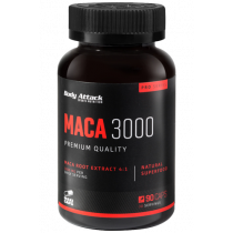 Body Attack Maca 3000 - 90 Kapseln