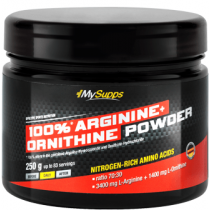 My Supps 100% Arginine + Ornithine Powder - 250g