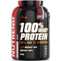 Nutrend 100% Whey Protein - 2250g Pulver - Strawberry