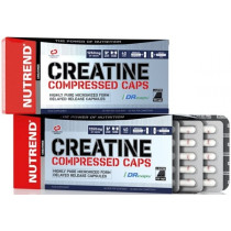 Nutrend Creatine Compressed Caps - 120 Kapseln
