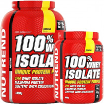 Nutrend 100% Whey Isolate - 900g bis 1800g Dose