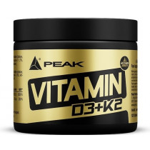 Peak Vitamin D3+K2 - 120 Tabletten