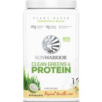 Sunwarrior Clean Greens & Protein - 750g Dose