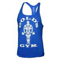 Golds Gym Classic Stringer Tank Top - royal