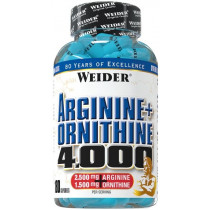 Weider Arginine + Ornithine 4000 - 180 Kapseln