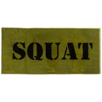 XXL Nutrition Gym Handtuch Squat - Army Green