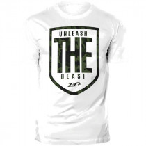 ZEC+ Herren T-Shirt Fitness THE BEAST - weiß