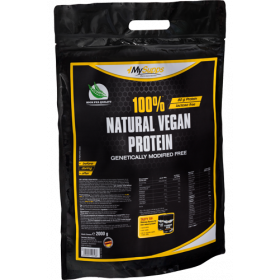 My Supps 100% Natural Vegan Protein - 2000g