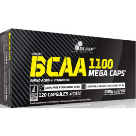Olimp BCAA 1100 Mega Caps - 120 Kapseln