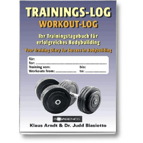 Trainings-Log (Klaus Arndt, Dr. Judd Biasiotto)