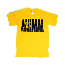 Universal Nutrition Animal Iconic Shirt - yellow