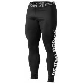 Better Bodies Mens Logo Tights - Black