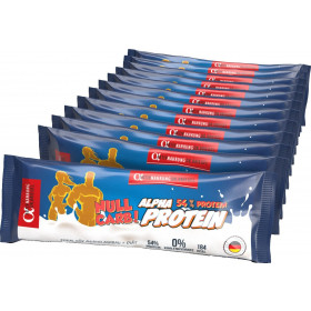 Alpha Aktivnahrung Real-Protein ZERO CARB - 12x 50g Riegel