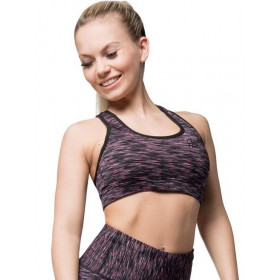 Anarchy Apparel Cushy Sports Bra - Pink