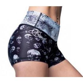 Anarchy Apparel Missfit Hot Pants - Black/White