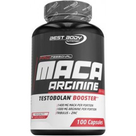 Best Body Nutrition Testobolan Maca Arginine - 100 Kapseln