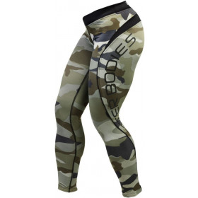 Better Bodies - Camo long tights - camo green