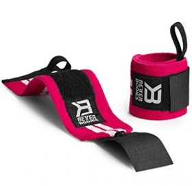 Better Bodies Womens Wrist Wraps - hot pink