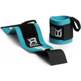 Better Bodies Womens Wrist Wraps - aqua blue