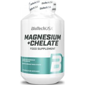 BiotechUSA Magnesium+ Chelate - 60 Kapseln