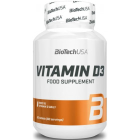 BioTechUSA Vitamin D3 - 60 Tabletten