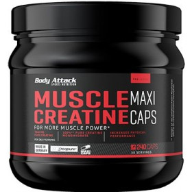 Body Attack Muscle Creatine - 240 Maxi Caps