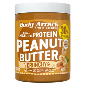 Body Attack Peanut Butter - 1000g