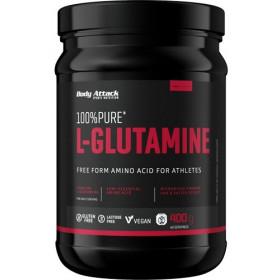 Body Attack 100% Pure L-Glutamine - 400g
