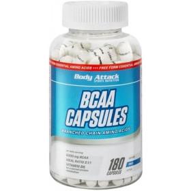 Body Attack BCAAs - 180 Kapseln