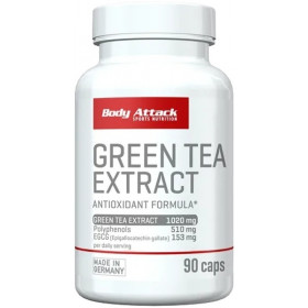 Body Attack Green Tea Extract - 90 Kapseln