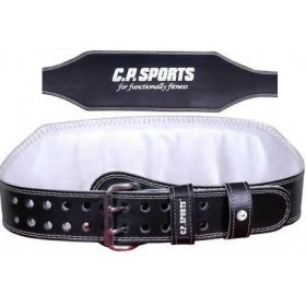 C.P. Sports Gewichthebergürtel Leder - extra breit