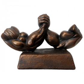 Bodybuilding Figur Man - Arm Wars Sculptur