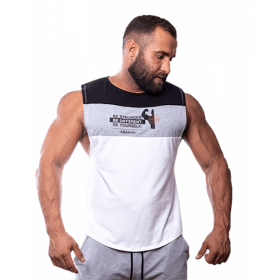 Fitnessvictim Men Casual Logo Tank