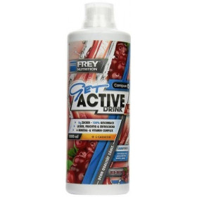 FREY NUTRITION GET ACTIVE DRINK - 1000 ml Flasche