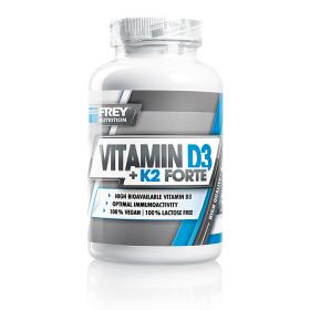 Frey Nutrition Vitamin D3 + K2 Forte - 90 Kapseln