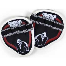 Gorilla Wear Palm Grip Pads - red