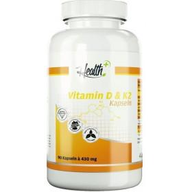 Health+ Vitamin D + K2 - 90 Kapseln