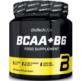 BioTechUSA BCAA+B6 - 340 Tabletten