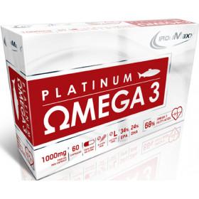 Ironmaxx Platinum Omega 3 - 60 Kapseln