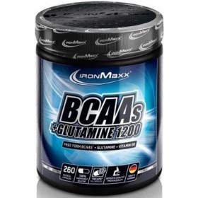 Ironmaxx BCAAs + Glutamin 1200 - 260 Kapseln