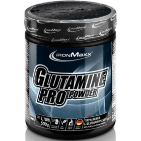 Ironmaxx Glutamine Pro Powder - 500g