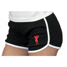 Universal Nutrition Ladies Shorts - Black