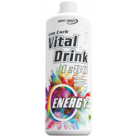 Energy - Best Body Nutrition Low Carb Vital Drink - 1 Liter